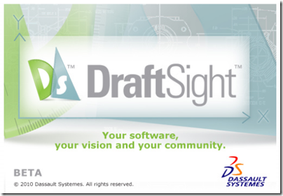 splah screen_draftsight