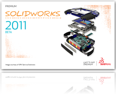 splash screen_solidworks 2011