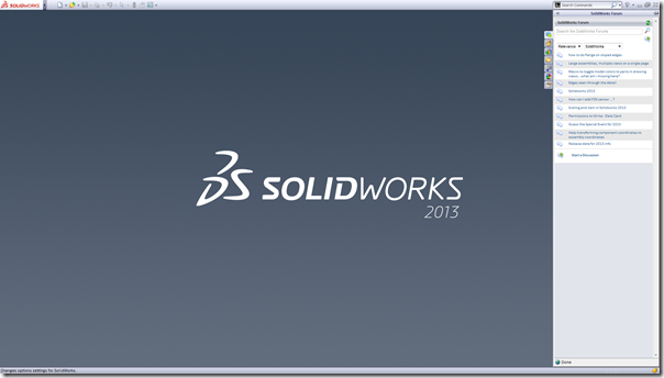 SolidWorks Forum - Task Pane