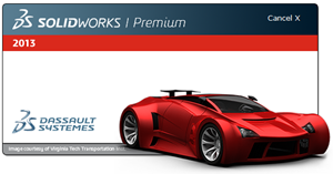 Splash Screen - SolidWorks 2013